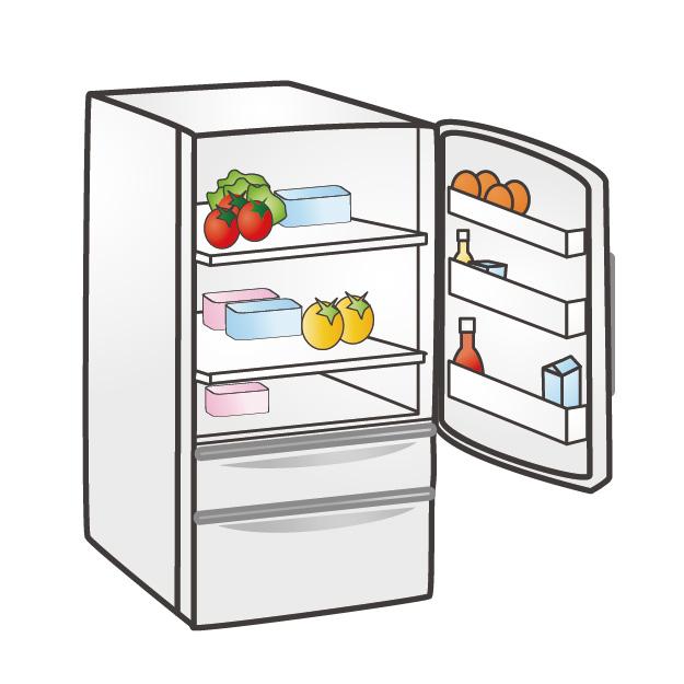 冷蔵庫オープン