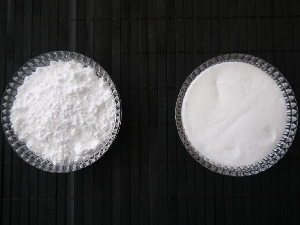 グラニュー糖と粉糖