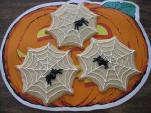 蜘蛛の巣クッキー