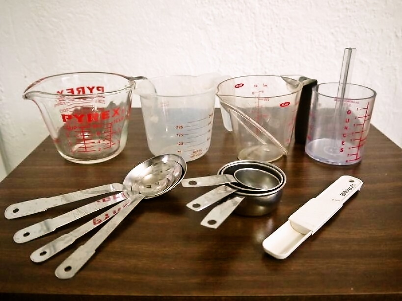 料理の計量器具