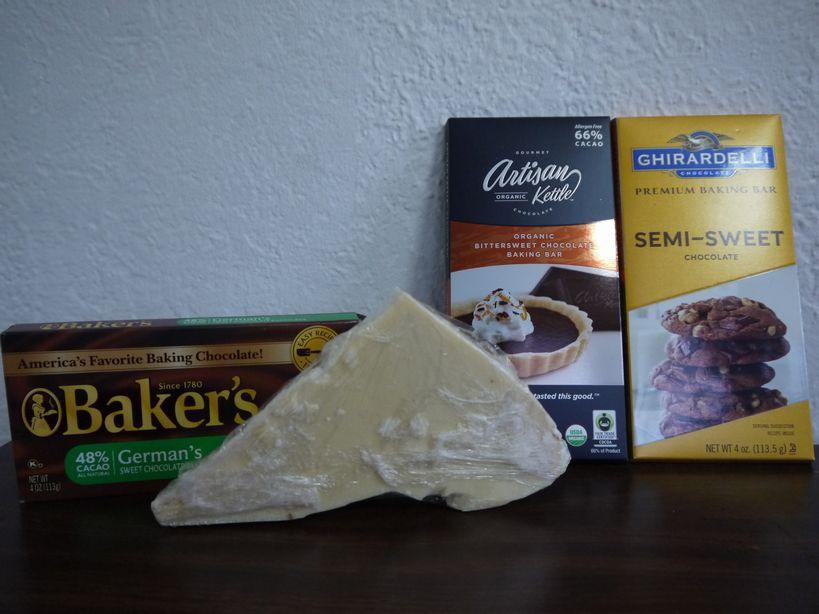 製菓用チョコレートの種類