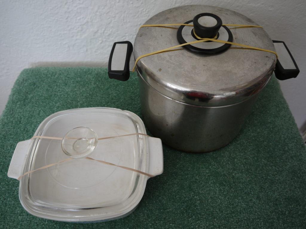 pot closure