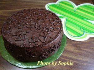 アイリッシュクリーム・チョコレートレイヤーケーキ