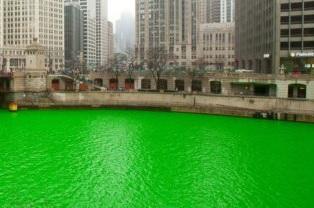 緑のシカゴ川