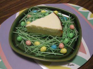 イースター・チーズケーキ