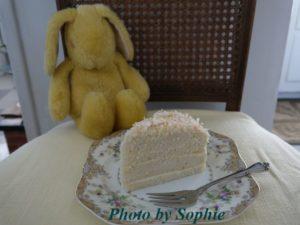 ココナッツレイヤーケーキ