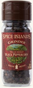 black peppercorn grinder