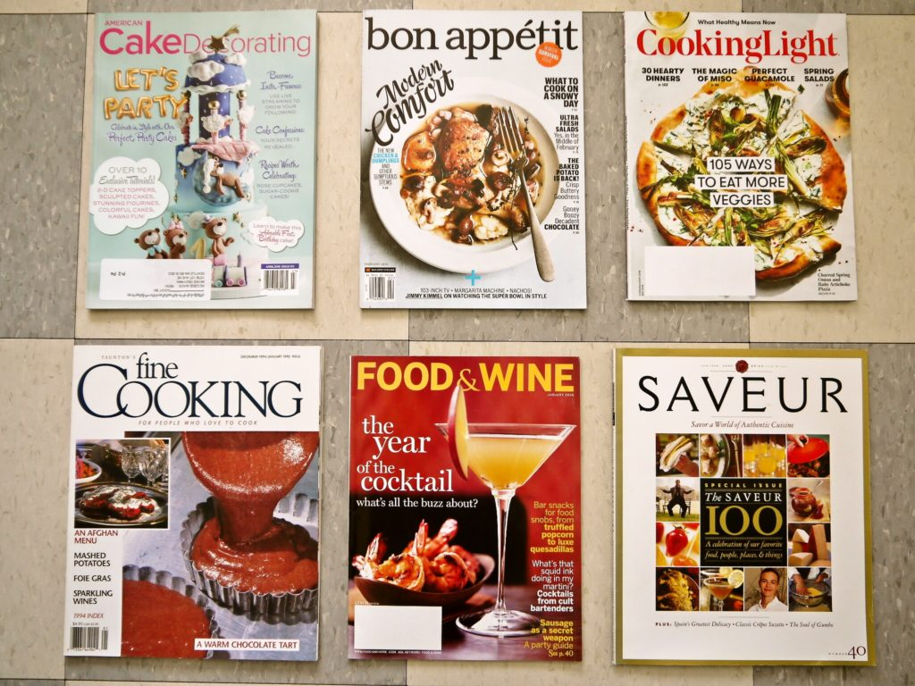 cooking magazine