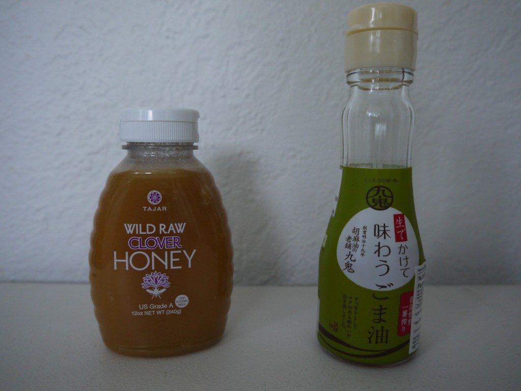 蜂蜜とごま油
