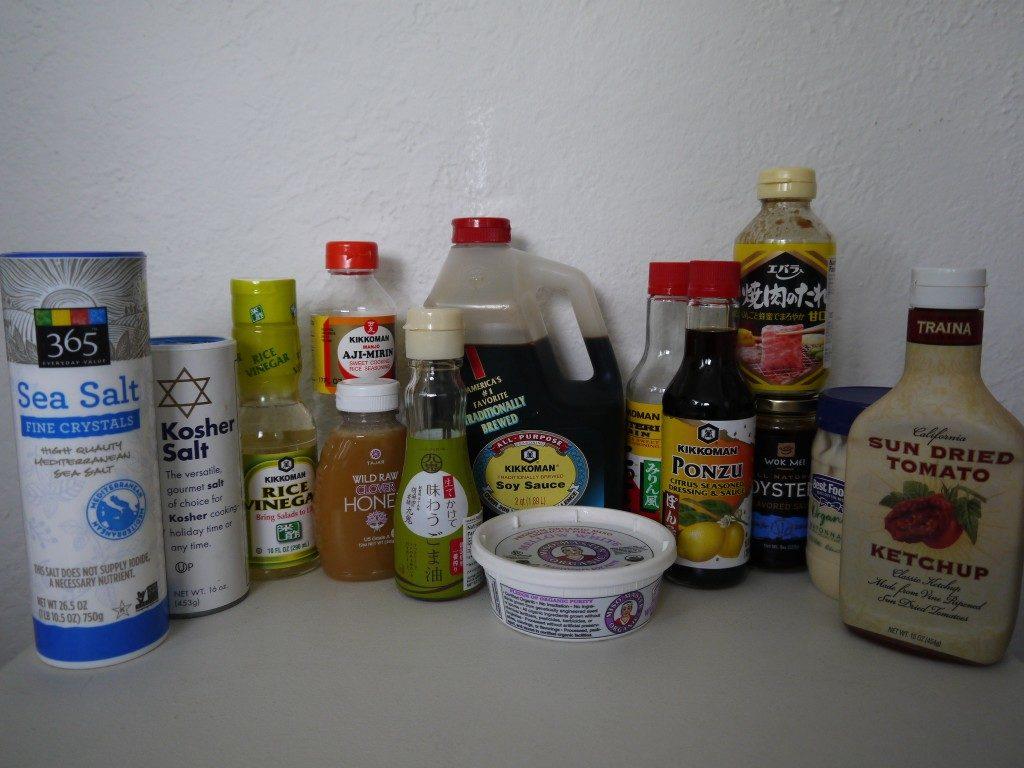 調味料の保存