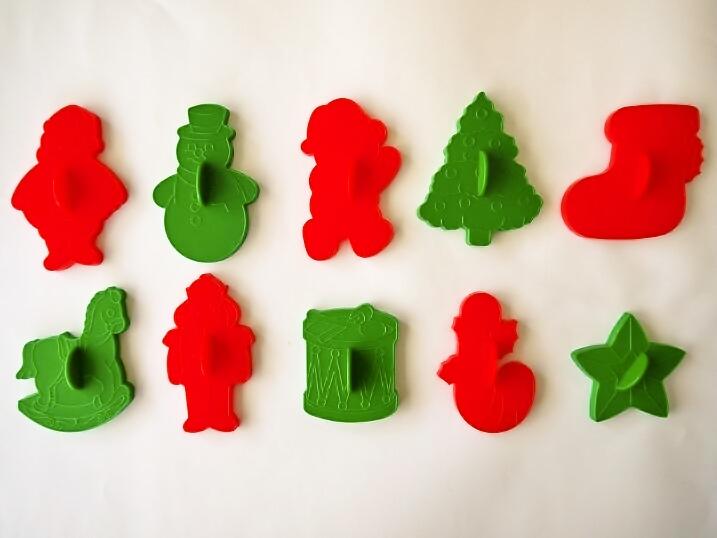 クリスマスのクッキー型