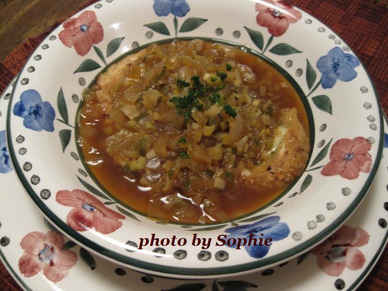フレンチ・オニオンスープ