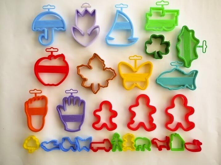 プラスチック製クッキー型