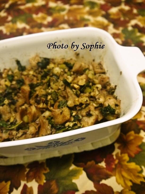 椎茸と野菜のスタッフィング