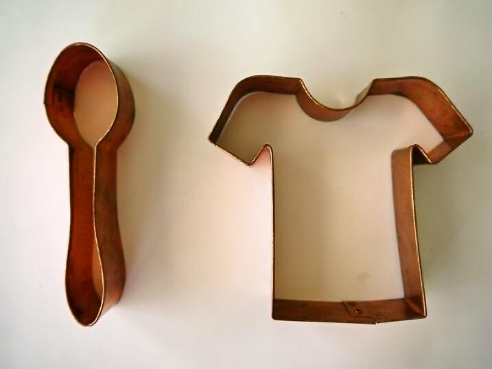 銅製クッキー型