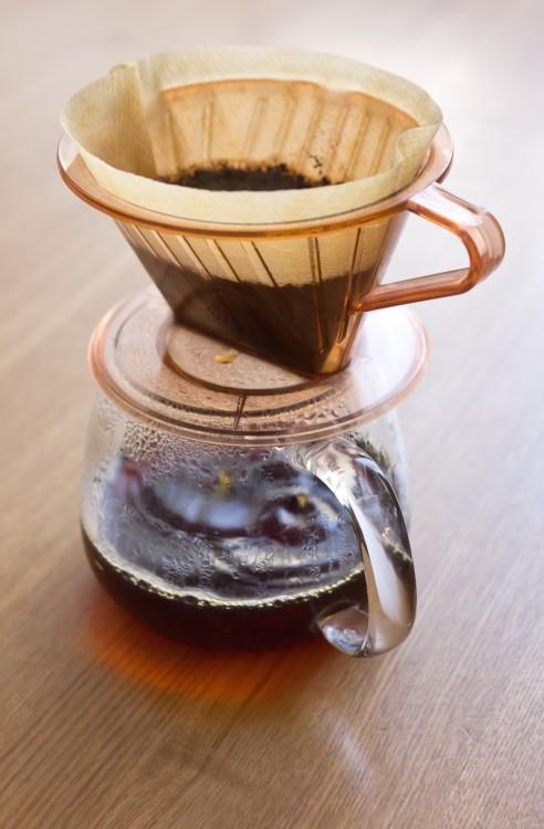 コーヒーの入れ始め