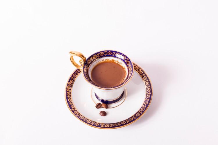 コーヒーにミルク