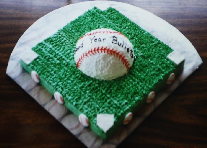 ベースボールダイヤモンドケーキ