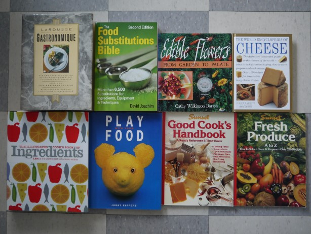 cookbooks in English