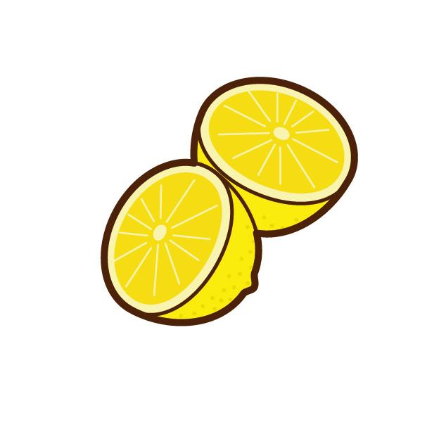 レモン半切り