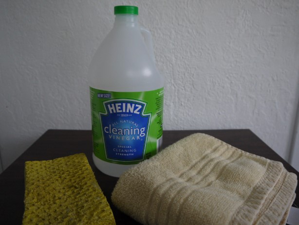 酢の掃除での使い方