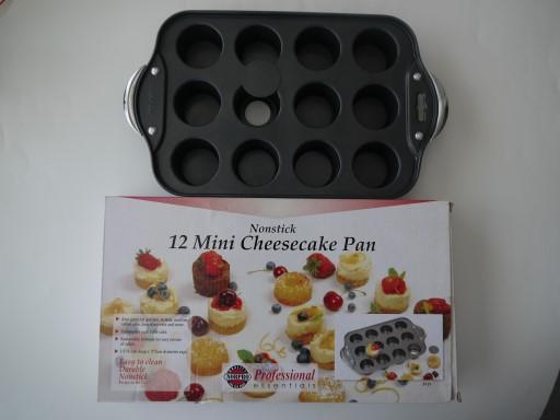 ミニチーズケーキ型