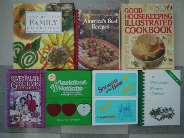 English recipe books
