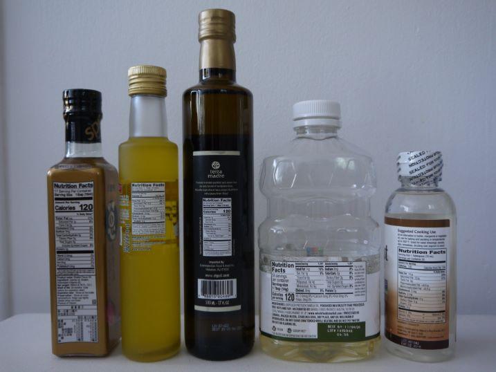油の栄養成分