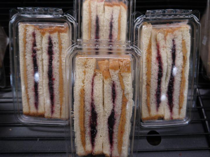 ピーナッツバター&ジェリー・サンドイッチ