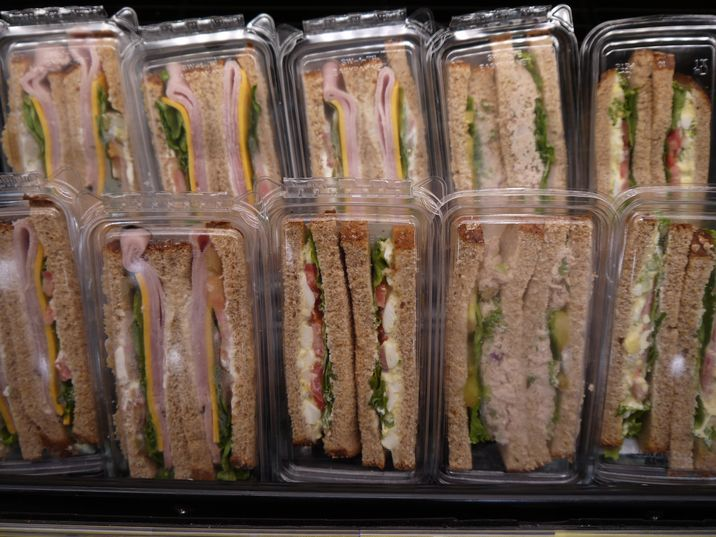 アメリカのサンドイッチ