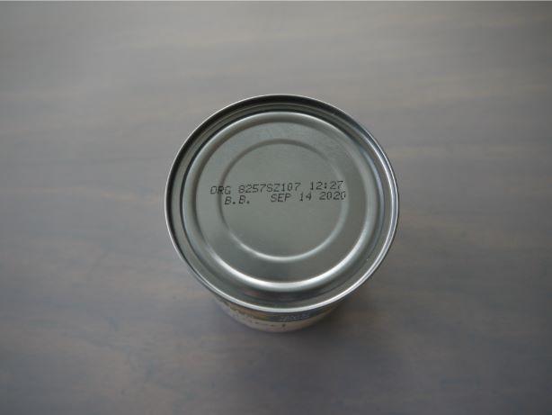 缶詰使用期限表示