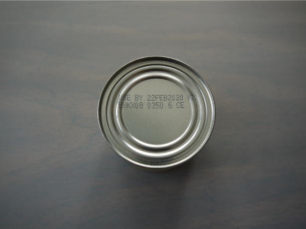 缶詰賞味期限表示(日・月・年)