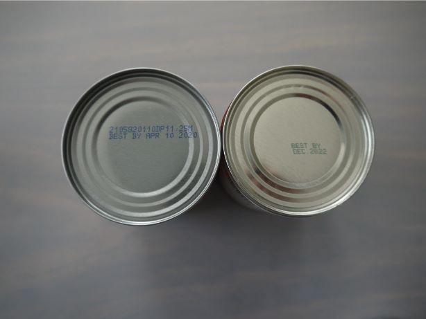 缶詰賞味期限表示