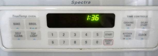 オーブンの機能ボタン