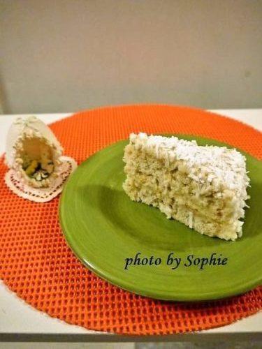 バナナ・ココナッツ・ラムケーキ
