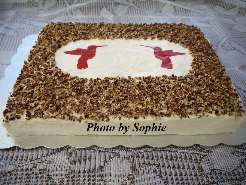 ハミングバードケーキ