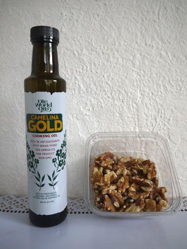 椿油と胡桃