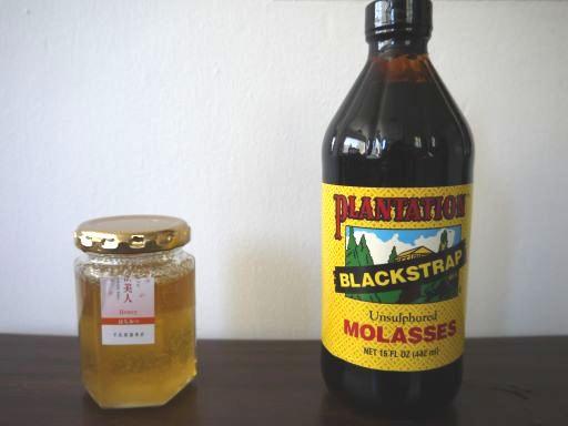 蜂蜜とモラッセズ