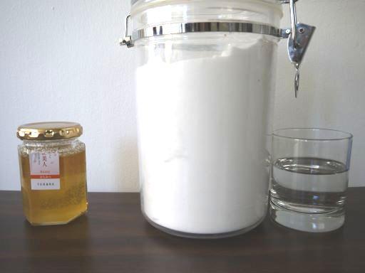 蜂蜜の代用
