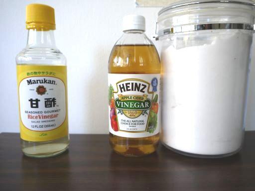 米酢の代用