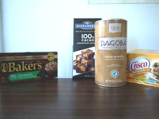 スイートチョコレートの代用