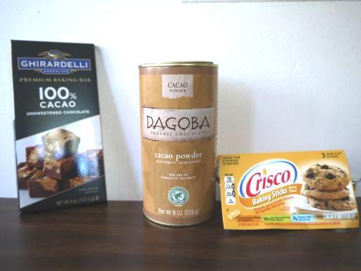 無糖チョコレートの代用