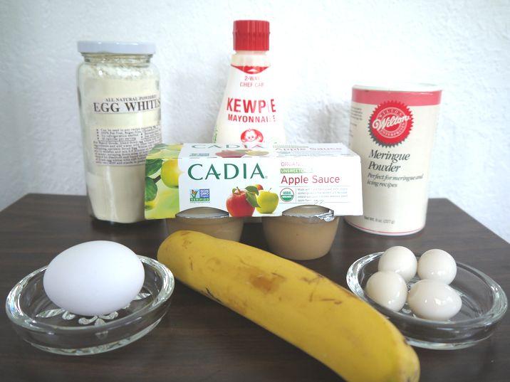 料理の卵の代用