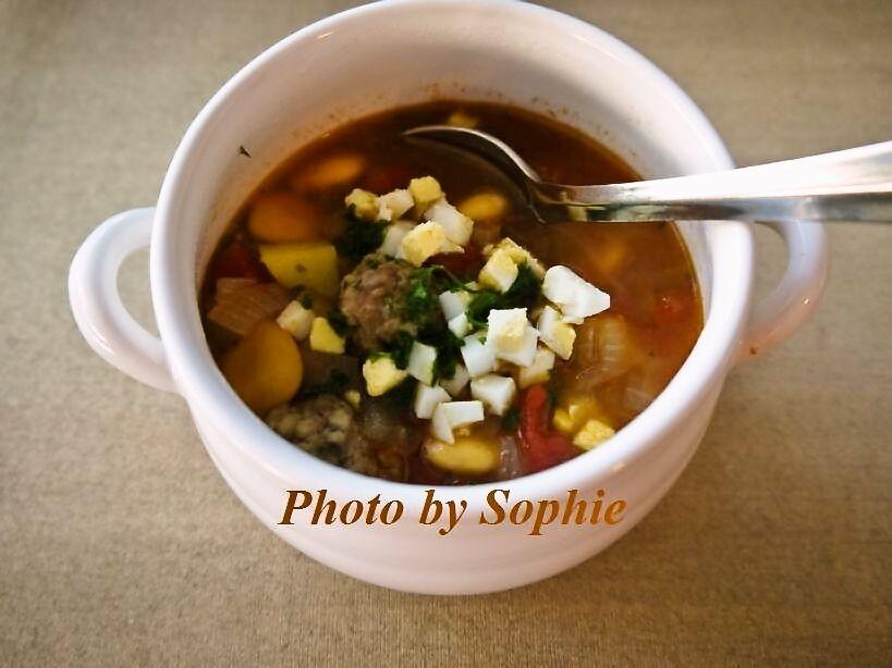 ミートボールスープ