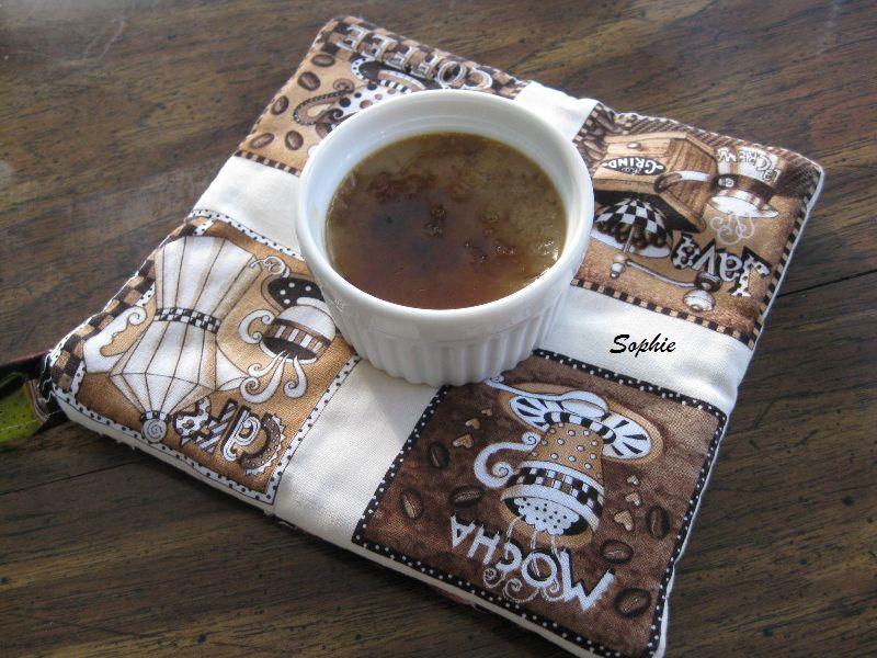 コーヒーブランデー・クレームブリュレ