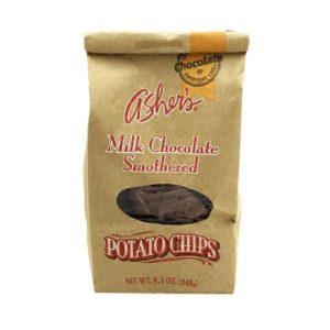 アシャーズ・ミルクチョコレート・ポテトチップス