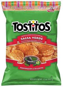 サルサベルデ・トルティアチップス
