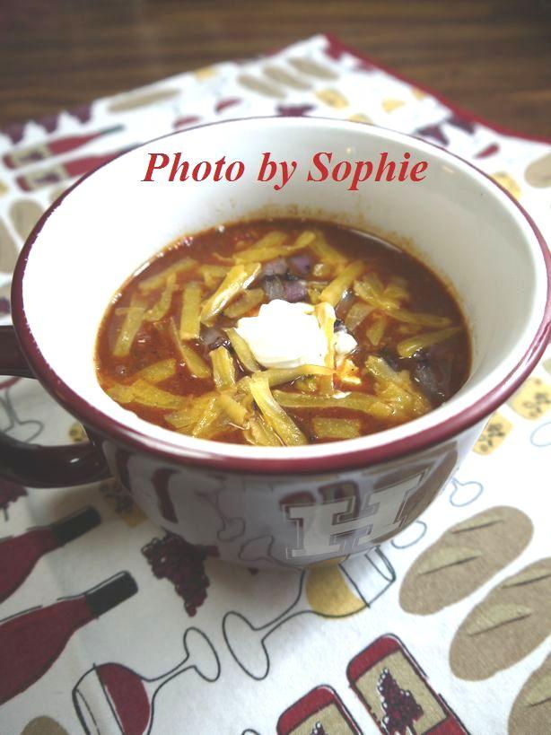 牛肉と白豆のチリ