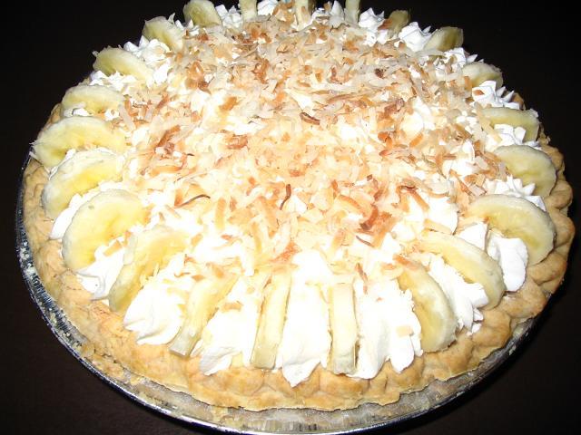 チョコレート・バナナクリームパイ