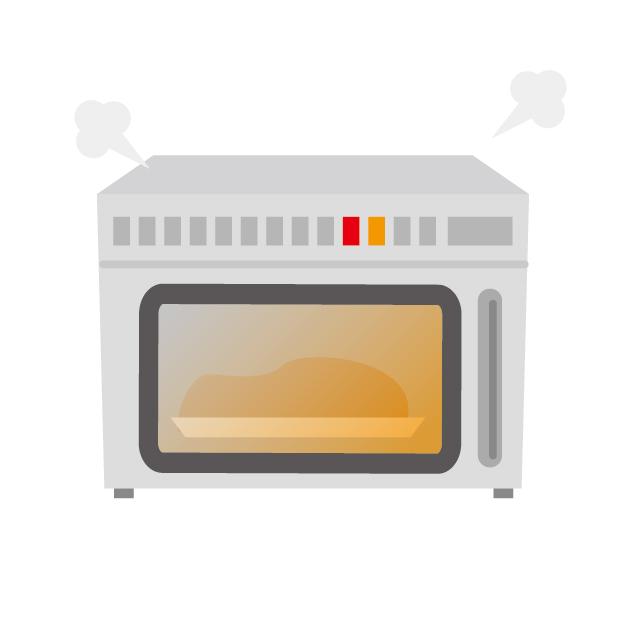 料理の温め直し